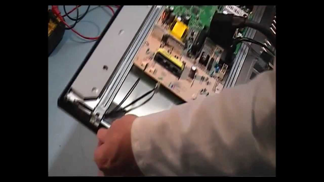 Sony KDL-22BX200  No Picture Repair Part 1