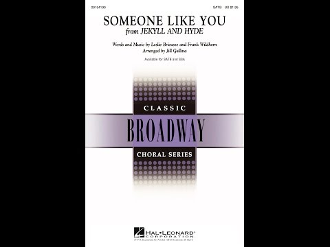 Someone Like You (SATB) - Arranged by Jill Gallina