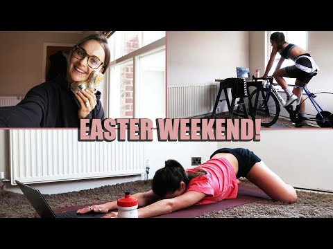 EASTER WEEKEND VLOG *ft Quarantine Personal Training Session*