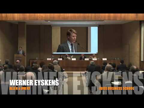 Intervento di Werner Eyskens alla Luiss Business School - 2014