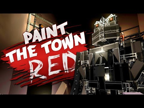 MASSIVE ROBOT AND INCREDIBLE STEALTH – Best User Made Levels – Paint the Town Red
