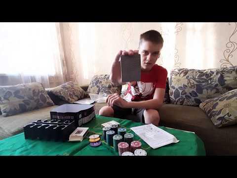 обзор набора покера с Ozon