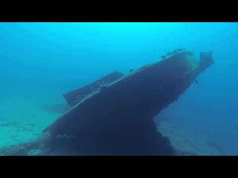 WWII wreck at Symi