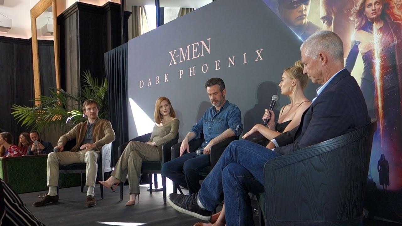 Download X-MEN: DARK PHOENIX - Conférence de presse en présence de l'équipe du film - 26/04/2019 (1/3)