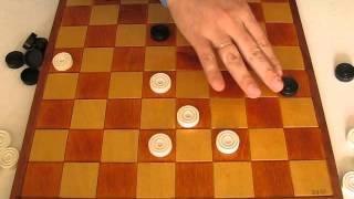 MVI 2492 Оппозиция (ч.2 продолжение) Видео урок по шашкам для начинающих. Opposition. Draughts. 2