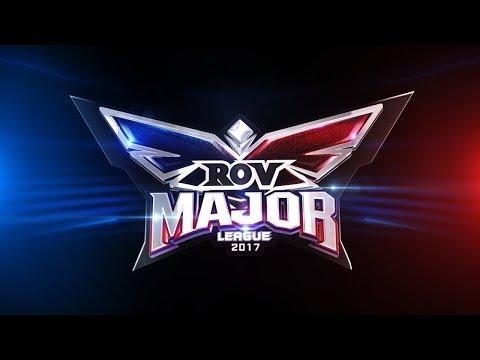 RoV Major League 2017 Week 9 Day 1