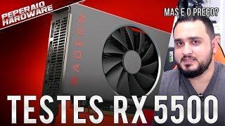 """RX 5500 é """"lançada"""" e vem para matar RX 570 e RX 580 / Mas e o preço AMD? / Versão de 8GB / Resenha"""