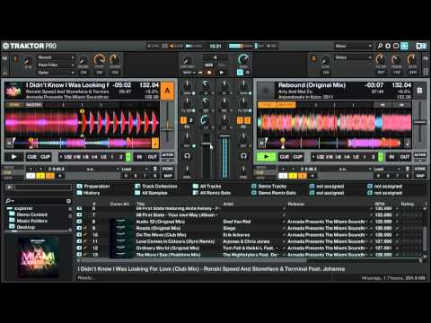 Mixing with Traktor Pro 2 (house set)