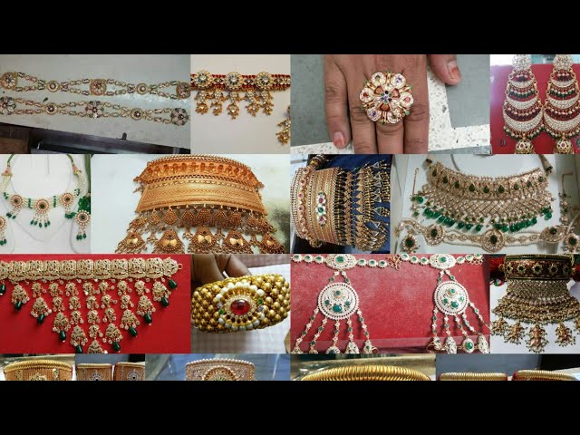 All Rajputi Jewellery| Aad | Bajubandh | Moti Haar | Hathfool | Punach | Shishful | Rajputi Earrings