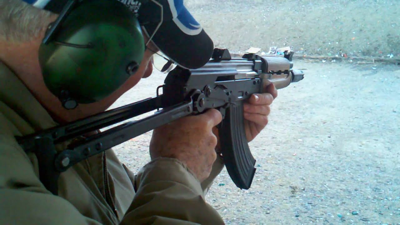 Download Zastava Yugo M92 Krinkov SBR - Muzzle Flash from Hell
