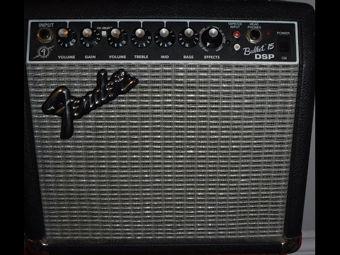 Fender Bullet 15 DSP Amp Demo