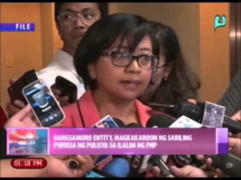 Bangsamoro entity, magkakaroon ng sariling puwersa ng pulisya sa ilalim ng PNP