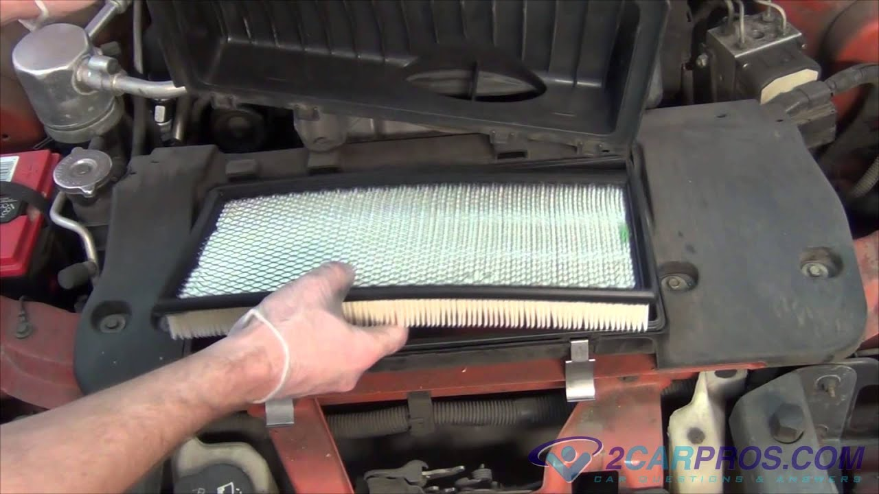Service manual how to replace air filter in a 1993 alfa for Change cabin air filter
