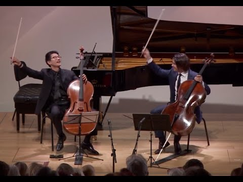 Gautier Capuçon and Nathan Chan  Barrière Cello Sonata for Two Cellos