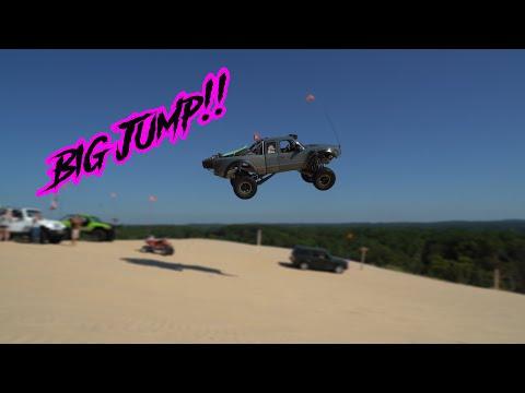 Silver lake sand dunes 2018 Big Jump