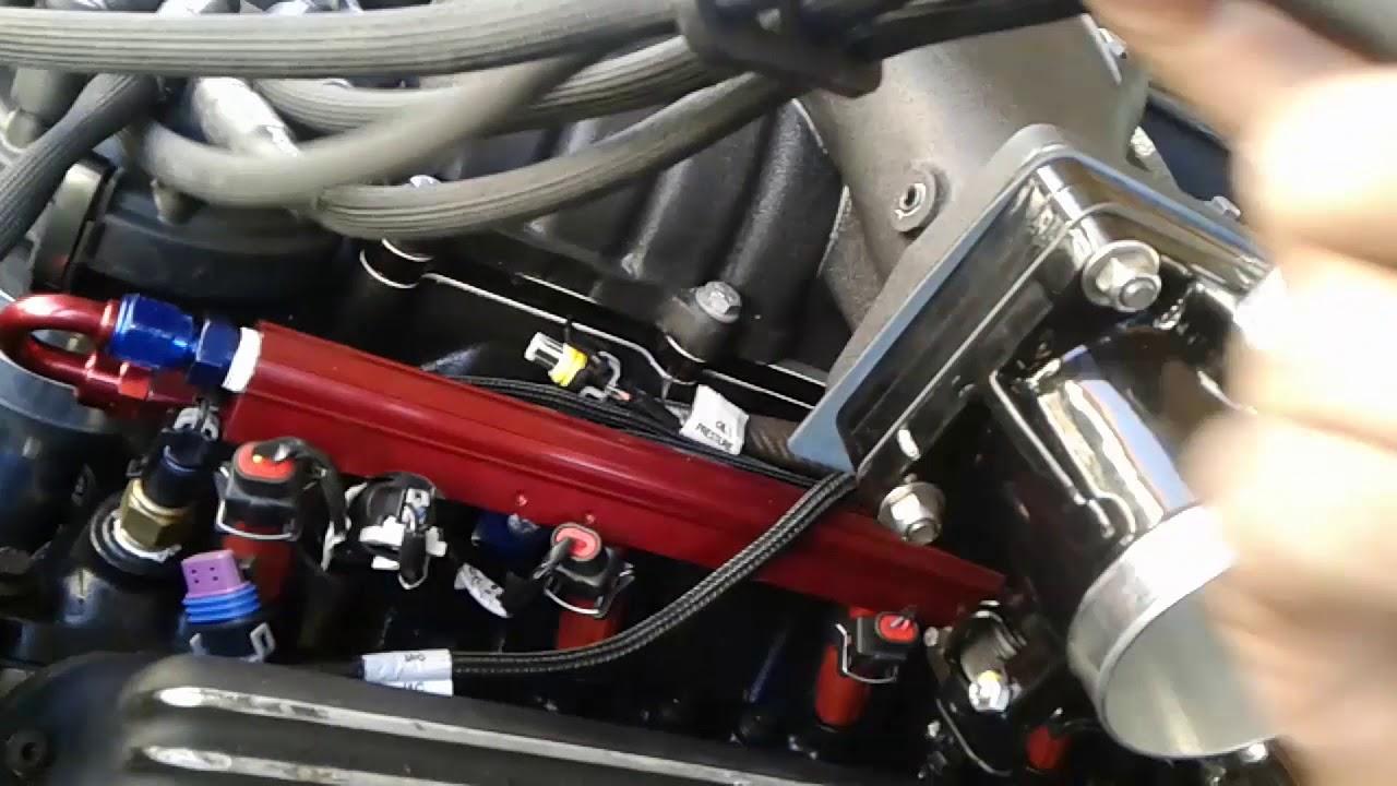 Early Bronco MPFI SEFI 5 0 351W MASS swap conversion Holley HP Part 5