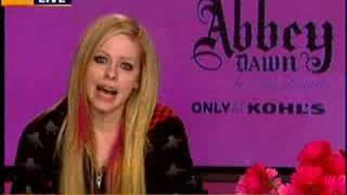 Avril Lavigne - Abbey Dawn Interview with KTXL Sacramento