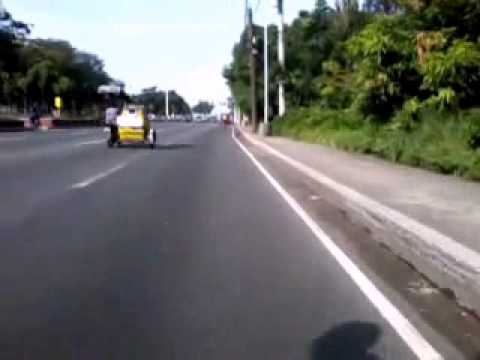 Cycling Manila City Hall to Baywalk Manila