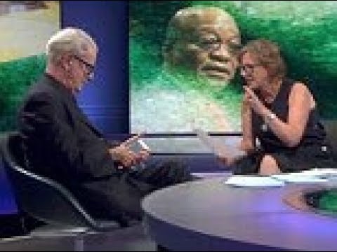 Lord Bell gets two phone calls during his Newsnight interview