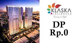 Gambar cover 500 Juta-an, DP Rp.0 Langsung KPR, Apartemen dengan Smart Unit System - Klaska Residence