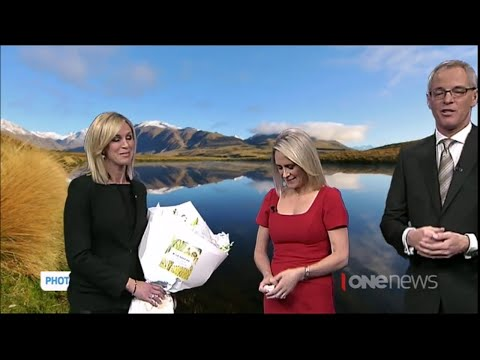 TVNZ farewells long-time weather presenter Karen Olsen