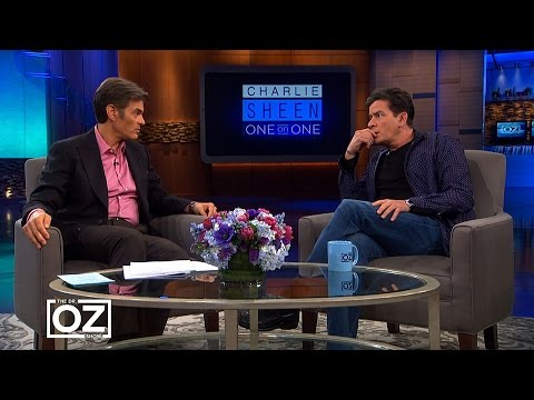 Charlie Sheen Tells Dr. Oz Why He Stopped Taking His HIV Medicine