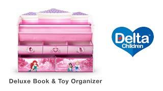 Delta Children's Deluxe Book & Toy Organizer Vignette