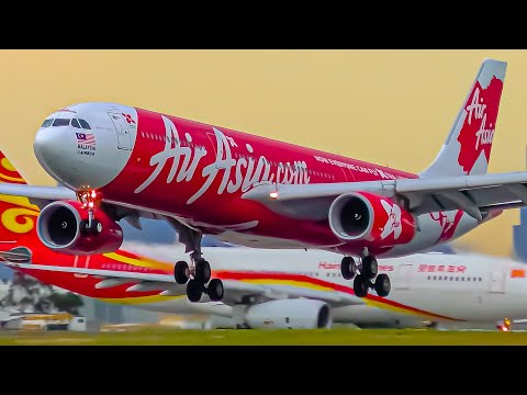 10 BIG PLANE Arrivals | Melbourne Airport Plane Spotting
