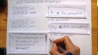Statistik Frihedsgrader og Modeller