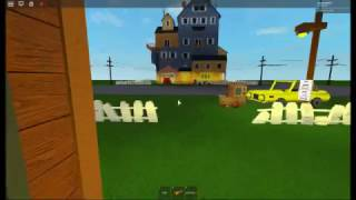 Roblox Hello Neighbor [ so awesome and scary ! ]