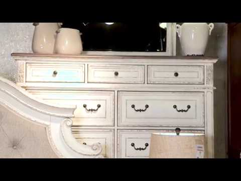 Realyn Two Tone Dresser From Signature Design By Ashley
