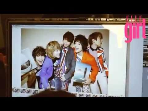 110512 SHINee on Elle Girl Japan Magazine!! [BTS, Photoshoot, JONGKEY!]