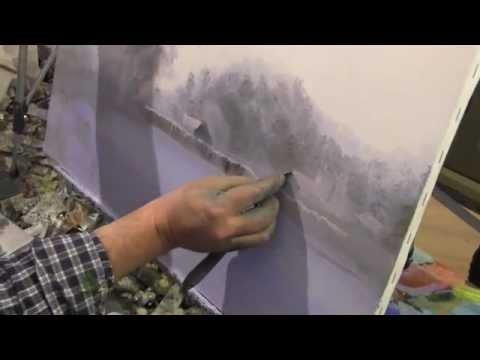 Живопись маслом видео уроки мастер класс