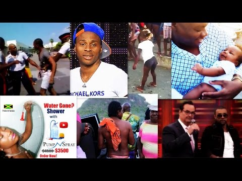 Dexta Daps VS The Police,Lil Girl Whining For Money?Man In G-String-Tanto Blacks Lyrcics TripleA,