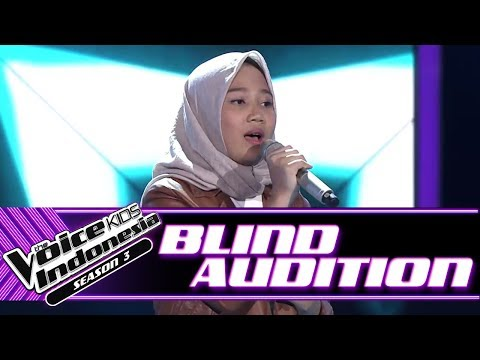 Zahra - Bimbang | Blind Auditions | The Voice Kids Indonesia Season 3 GTV 2018
