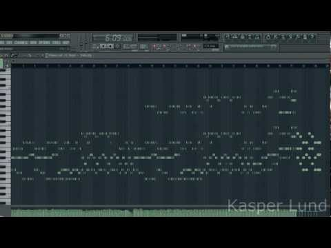 Adele - Someone Like You. Piano version (Fl Studio 10). By Kasper Lund.