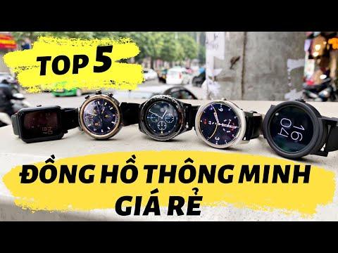 TOP 5 Đồng Hồ Thông Minh Giá Rẻ Đáng Mua Nhất | Phân Khúc Dưới 2 Triệu