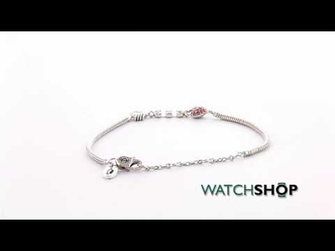 Juicy Couture Jewellery Heart Arrow Luxe Wishes Bracelet (WJW62487-040)