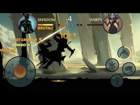 Shadow Fight 2  | Stone Grove - Score Fight + Hot Ground - No Cheats | ANGI GAMERS
