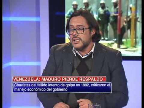 Gilberto Aranda analizó la pérdida de respaldo de Nicolás Maduro en Venezuela