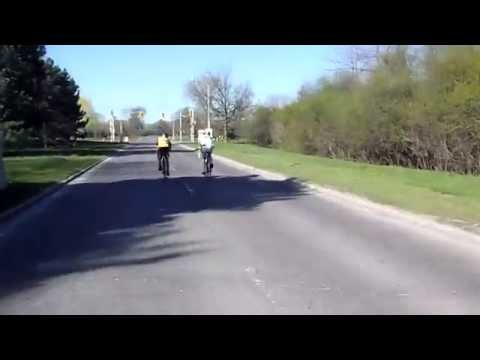 CN Cycle for CHEO - Westbound John A. MacDonald Parkway