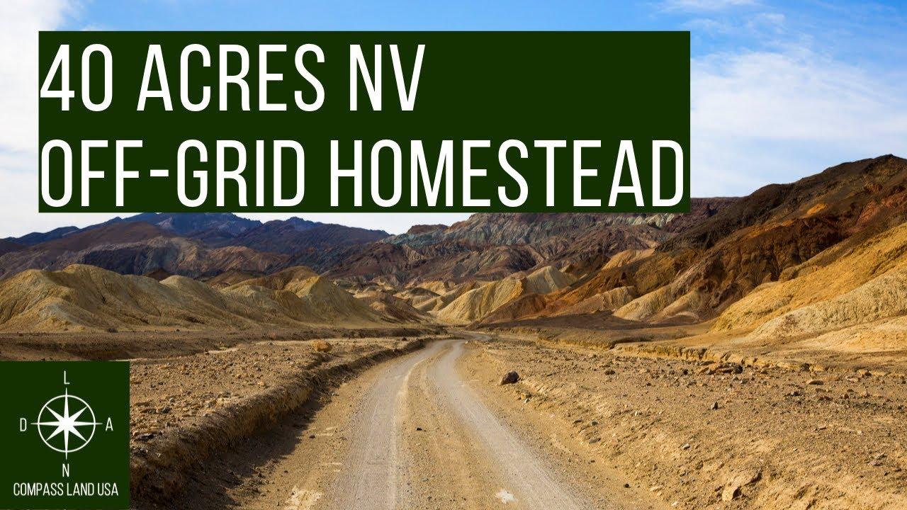 40 Acres Nevada Off Grid Homestead