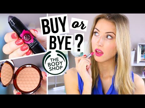 Haul & First Impression || The Body Shop MAKEUP??