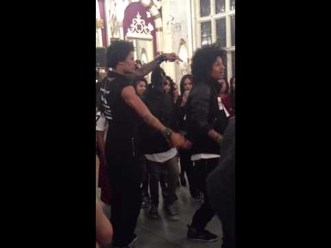 Les Twins telepathy London workshop 2014