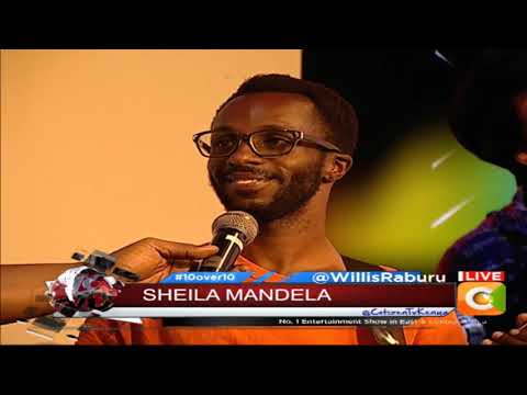 The beautiful voice of Sheila Mandela 10 over 10