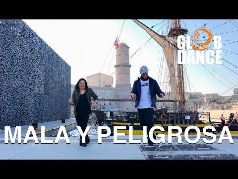 Mala y Peligrosa - Víctor Manuelle ft. Bad Bunny - GlobDance®️ Coreografia Luis Calanche
