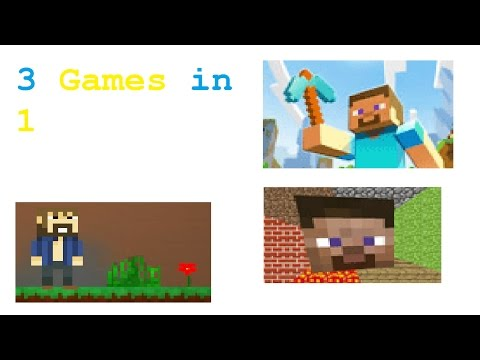 3 Games In 1 | Mine Blocks, Minecraft Skins Editor, Mineblock Html5