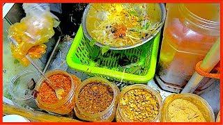 FRESH SALAD IN VETNAM - STREET FOOD