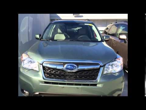 2016 Subaru Forester Jasmine Green Metallic