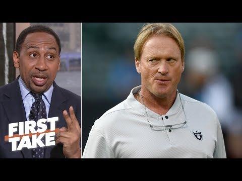 Jon Gruden, Raiders are scapegoating Reggie McKenzie - Stephen A.   First Take